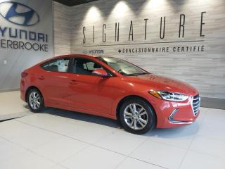 Used 2018 Hyundai Elantra GL + VOLANT CHAUFFANT + CAMÉRA DE RECULE for sale in Sherbrooke, QC