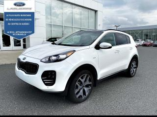 Used 2018 Kia Sportage SX Turbo AWD w-Canyon Beige for sale in Victoriaville, QC