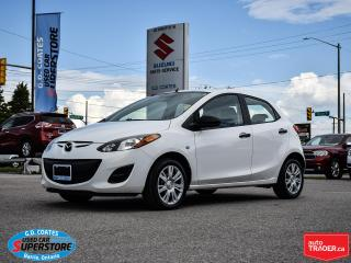 Used 2013 Mazda MAZDA2 GX ~Power Windows + Locks ~Air Conditioning for sale in Barrie, ON