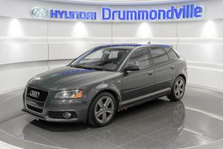 Used 2011 Audi A3 PREMIUM QUATTRO + TOIT PANO + BOSE+ PADD for sale in Drummondville, QC