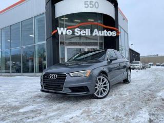 Used 2016 Audi A3 2.0T Progressiv 4dr AWD quattro Sedan for sale in Winnipeg, MB