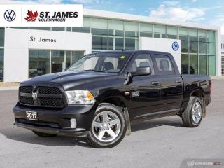 Used 2017 Dodge Ram 1500 One Owner, Bluetooth for sale in Winnipeg, MB