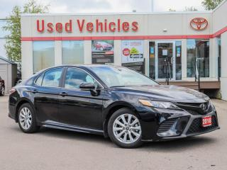 Used 2018 Toyota Camry SE ALLOYS CAMERA SPOILER POWER/HEATED-SEATS for sale in North York, ON