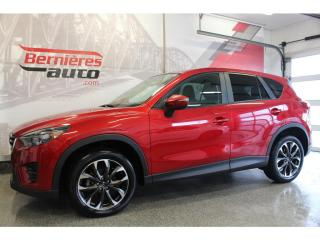 Used 2016 Mazda CX-5 GT AWD + GPS for sale in Lévis, QC
