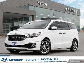 Used 2018 Kia Sedona SXL+ for sale in Barrie, ON