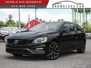 Used 2018 Volvo V60 T5 Dynamic AWD | NAV | REVERSE CAM | SUNROOF | HEATED LEATHER | for sale in Stittsville, ON