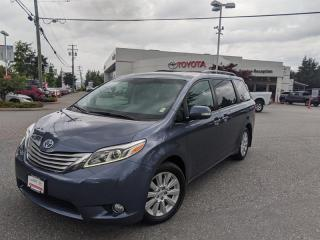Used 2015 Toyota Sienna LTD 7-Pass V6 6A for sale in Surrey, BC