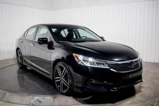 Used 2017 Honda Accord TOURING V6 CUIR TOIT NAV for sale in St-Hubert, QC