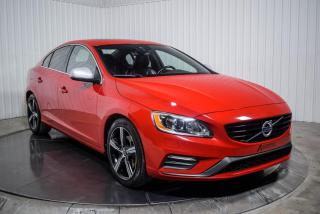 Used 2017 Volvo S60 T6 DRIVE-E  R-DESIGN AWD CUIR TOIT NAV for sale in St-Hubert, QC