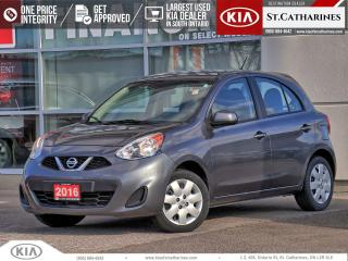 Used 2016 Nissan Micra SV | Cruise | Bluetooth | Keyless Entry for sale in St Catharines, ON