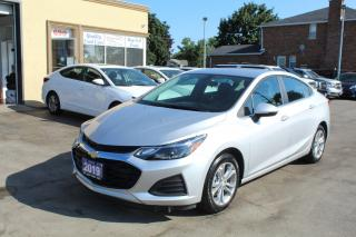 Used 2019 Chevrolet Cruze LT for sale in Brampton, ON