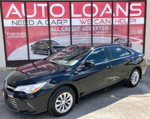 Used 2017 Toyota Camry LE_ALL CREDIT ACCEPTED for sale in Toronto, ON