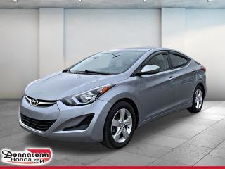 Used 2016 Hyundai Elantra GL *JAMAIS ACCIDENTE* for sale in Donnacona, QC