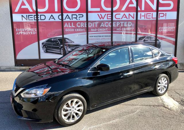2018 Nissan Sentra SV-ALL CREDIT ACCEPTED