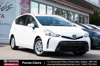 Used 2018 Toyota Prius V BACK UP CAM for sale in Pointe-Claire, QC