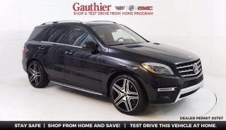 Used 2015 Mercedes-Benz ML-Class ML 550 AWD, V8, Power Sunroof, Navigation, Heated for sale in Winnipeg, MB