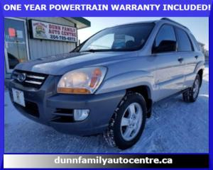 Used 2008 Kia Sportage LX for sale in Dugald, MB