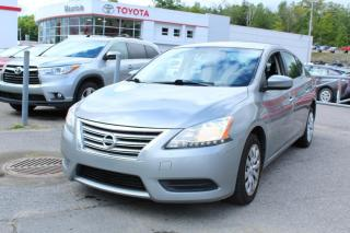Used 2013 Nissan Sentra Berline 4 portes CVT S for sale in Shawinigan, QC