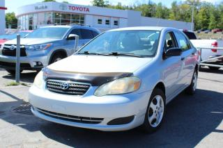 Used 2005 Toyota Corolla 4dr Sdn CE Manual for sale in Shawinigan, QC