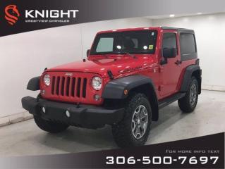 Used 2014 Jeep Wrangler Rubicon | Leather | Navigation | for sale in Regina, SK