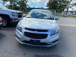Used 2016 Chevrolet Cruze **LT**REARVIEW CAMERA**SXM RADIO**LOW KMS**BT** for sale in Hamilton, ON