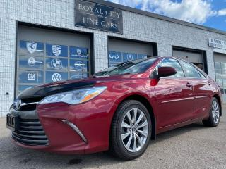 Used 2015 Toyota Camry XLE V6 SUNROOF LEATHER NAVIGATION for sale in Guelph, ON