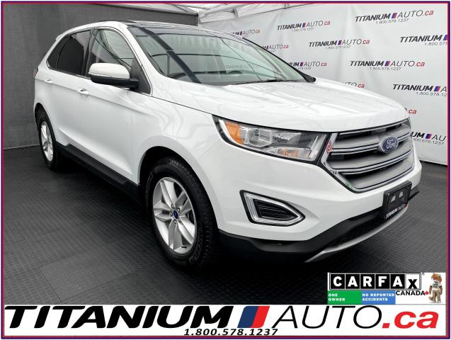 2017 Ford Edge SEL+GPS+Camera+Pano Roof+Leather+Remote Start
