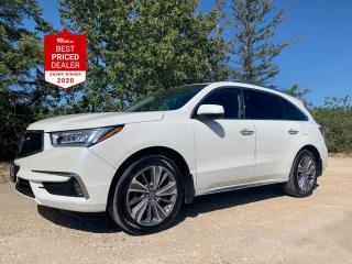 Used 2017 Acura MDX SH-AWD ELITE PKG *NAV - DVD - ADAPTIVE CRUISE* for sale in Winnipeg, MB