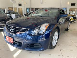 Used 2013 Nissan Altima Coupe 2.5 S CVT for sale in Waterloo, ON