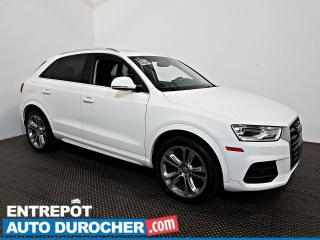 Used 2017 Audi Q3 Progressiv AWD Sline Nav - Toit Ouvrant - A/C - for sale in Laval, QC