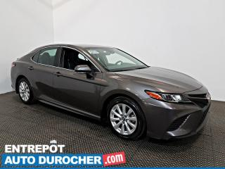 Used 2019 Toyota Camry LE AIR CLIMATISÉ - Caméra de Recul - Semi Cuir for sale in Laval, QC