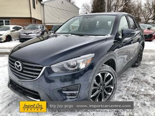 Used 2016 Mazda CX-5 GT LEATHER  ROOF  NAVI  BLIS  BACKUP CAM for sale in Ottawa, ON