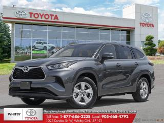 New 2020 Toyota Highlander L for sale in Whitby, ON
