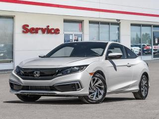New 2020 Honda Civic Coupe LX CVT for sale in Brandon, MB