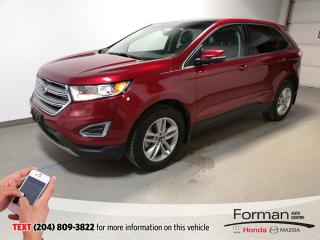 Used 2017 Ford Edge SEL|Warranty|Htd Lthr|Camera|Rmt Start|Navi|N.Tire for sale in Brandon, MB