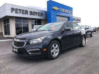 Used 2015 Chevrolet Cruze LT for sale in Napanee, ON