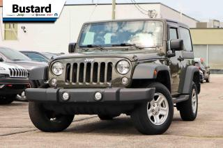 Used 2016 Jeep Wrangler 4WD 2dr Sport | RARE COLOR | A/C | MANUAL for sale in Waterloo, ON