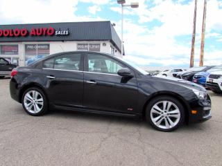 Used 2016 Chevrolet Cruze Limited LTZ RC Auto 1.4L Turbo Leather Camera Certified for sale in Milton, ON