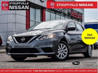 Used 2016 Nissan Sentra S  Manual  Lease Return  Clean Carfax  ONE Owner for sale in Stouffville, ON
