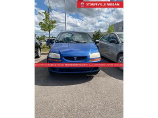 Used 2005 Pontiac Wave Base  Runs AND Drives  YOU Certify YOU Save for sale in Stouffville, ON