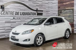 Used 2013 Toyota Matrix AUTOMATIQUE + TOIT OUVRANT + AUTOMATIQUE for sale in Laval, QC