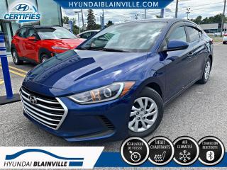 Used 2017 Hyundai Elantra LE BLUETOOTH, BANCS CHAUFFANTS, A/C for sale in Blainville, QC