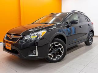 Used 2016 Subaru XV Crosstrek AWD SIÈGES CHAUFF TOIT OUVRANT NAVIGATION *CUIR* for sale in St-Jérôme, QC