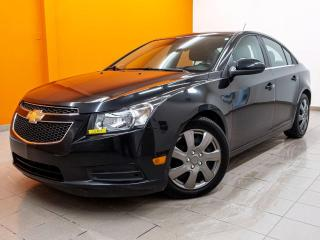 Used 2014 Chevrolet Cruze ECO AUTOMATIQUE *BLUETOOTH* A/C *PORT USB* PROMO for sale in St-Jérôme, QC