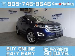Used 2016 Ford Edge SEL | AWD | LEATHER | PANO ROOF | NAV | 1 OWNER for sale in Brantford, ON