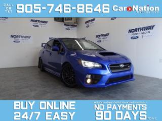Used 2016 Subaru WRX STI | 6 SPEED MANUAL | AWD | 400 HP MODIFIED for sale in Brantford, ON