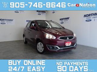Used 2018 Mitsubishi Mirage ES | HATCHBACK | TOUCHSCREEN | REAR CAM for sale in Brantford, ON