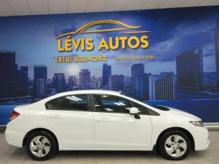 Used 2015 Honda Civic LX MANUEL TOUT EQUIPE 90700KM AIR CLIMAT for sale in Lévis, QC