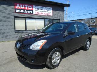 Used 2010 Nissan Rogue S for sale in St-Hubert, QC