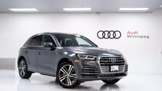 New 2020 Audi Q5 Technik w/S-Line Sport Package *DEMO* for sale in Winnipeg, MB